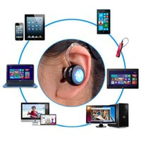 Wholesale Wireless Earbuds For Cell Phones - NEW Mini-a Wireless Stereo Bluetooth 4.0 In-Ear Earphone Headphone Headset with Microphone for Mobile Cell Phone Laptop Tablet Earbuds