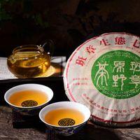 Wholesale Field C - C-PE120 Classes wild field incense Pu'er tea raw tea 357g Pure ancient trees Pu'er tea Yunnan seven sub-cake
