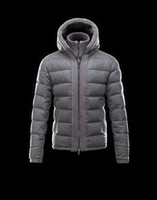 Wholesale Mens Down Parka Xxl - mens brand New goose down jackets thicking hooded down parkas 90% white duck down coats BERRIAT