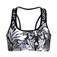 Wholesale Top Bra For Sleeping - Wholesale-Sport Bra Push Up For Running Tanks Top Yoga Sports Sleep Fitness Clothes For Women Shirt