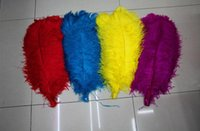 Wholesale Light Blue Ostrich Plumes - 2016 color Ostrich Feathers Thin rod Plume Centerpiece for Wedding Party Table Decoration feather YM40