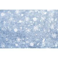 Wholesale digital christmas backdrops - Winter Snowflake Bokeh Photography Backdrops Vinyl Fabric Digital Printed Baby Newborn Christmas Holiday Photo Shoot Backgrounds for Studio