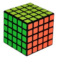 Wholesale Square Games - Free Shipping 5x5 Square Shape Speed Magic Cube Puzzle Children Kids Educational Toys kid games Good Quality