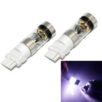 Wholesale High Power Led Ba15s - High Power 1156 1157 7440 7443 3156 3157 100W 1000LM 20 SMD CREE Tail Brake Light Bulb Led Reverse Light 1156 BA15S P21W Fog Light Car Bulbs