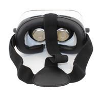 realidad virtual google 3d plastico carton al por mayor-Montaje de la cabeza Plástico VR BOX Versión VR Realidad virtual Gafas Rift Google Cartón Película 3D para 3.5