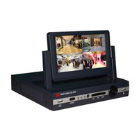 Wholesale 8ch D1 Video - 8CH D1 HDMI VGA NVR 720P 960P 1080P Playback P2P Network Video Recorder with 7 inch LCD 1 4 8 Display Screen RH6800