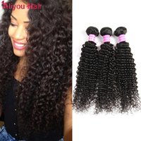 Top Top Malásia Peruvian Brazilian Kinky Curly Remy Extensões de cabelo humano Wet Wavy Weave Bundle Deals peruano Malaysian Indian Hair Wefts
