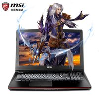 Wholesale Wireless Mouse China - MSI MSI GE62 6 qc - 490 XCN notebook solid 128 g Gao Qingbing computer game six generations of I7 send single shoulder bag Gaming mouse keyb