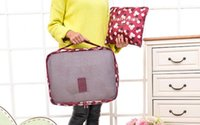 Wholesale Cover Luggage - New 6pcs set Travel Storage Bags Shoes Clothes Toiletry Organizer Luggage Pouch Kits Wholesale Bulk Lots Accessories Supplies Stuff