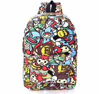 Wholesale Backpack Park - 2017 South Park Cartoon Women Backpacks Sport Bags For Teenage Girls College High School Daily Backpack For Student Bags
