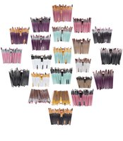 Wholesale 22 Makeup Brush Set - Newest 20Pcs Professional Makeup Brushes make up Cosmetic Brush Set Eye Makeup Brush 22 Color makeup kits set for women