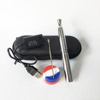 ingrosso migliori penne a base di erbe secche-Migliore qualità Puffco Pro Kit Skillet VTwo Ecig Starter Kit 510 Bobina al quarzo Cera Vape Penna Dab Penna fumo per vaporizzatore per erbe secche