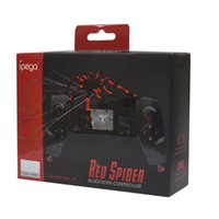 IPEGA PG-9055 Rot Spinne Drahtlose Bluetooth Gamepad Teleskop Game Controller Gaming Joystick Für Android IOS Tablet PC neue heiße