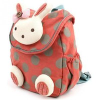 Wholesale Kindergarten Gifts Girl - New lovely Rabbit Anti Stray Toddler backpack softback mini schoolbag Children's gifts kindergarten boy girl bags Mochila top