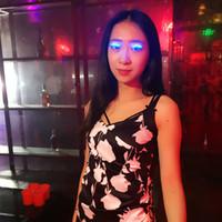 Wholesale Black Eyelid Tape - Interactive LED Eyelash LED Light Eyelash Shining Eyeliner Charming Unique Waterproof Eyelid Tape Nightclub DJ Deco Wholesale 0708089