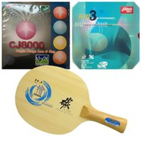 Wholesale Dhs Hurricane Blade - Sanwei HC.6 Blade with DHS NEO Hurricane 3  Palio CJ8000 (BIOTECH) Rubbers for a table tennis (PingPong) racket