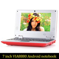 8GB 7inch Mini laptop Android notebook VIA8880 Dual Core Android 4.2 Wifi Netbook Laptop 512MB 1.5GHz + Webcam HDMI