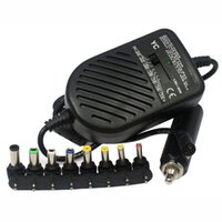 laptop do carro do carregador do adaptador venda por atacado-Universal 80 W para DC Porta USB LED Car Auto Charger Ajustável Adaptador de Alimentação Set + 8 Plugues Destacáveis ​​Para Notebook Laptop