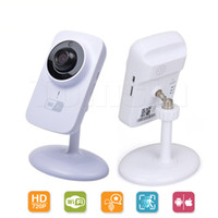 Wholesale Camera Wifi Wireless 1pcs - 1pcs V380 Mini Wifi IP Camera Wireless 720P HD Smart Camera Fashion Baby Monitor free shipping with retail package