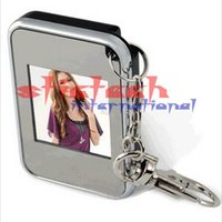 "Wholesale Digital Photo Frame Lcd Keychain - 10 pieces 1.5"" LCD mini Digital Photo Frame for picture digital album electronic with Keychain"