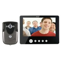 Wholesale Door Video Electric Lock - LCD Video Door Phone Doorbell Intercom Kit + IR Night Vision Camera Electric With lock-control function Volume, brightness