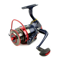 Wholesale Rocker Wheels - 2016 new hot am2000-7000 fishing reel metal rocker arm 12 Bearing Water Drop Line Casting Spinning Wheel