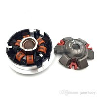 Wholesale Gy6 157qmj - Free shipping koso High Performance Variator Set with Copper Rollers For Most Chinese 125 150cc GY6 Scooter 152QMI 157QMJ QJ Spare Part
