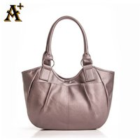 Wholesale High Design Handbags For Men - Wholesale-ANNY - STOCK CLEARANCE Women Handbag Simple Design Leather Bags Ladies Handbag Casual Hobo Shoulder Bag For Women High Quality