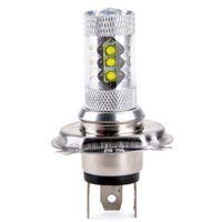 h4 hb2 toptan satış-Süper Beyaz H4 HB2 9003CREE 80 W LED Projektör Ultra Parlak Far Far Yüksek / düşük Işın Yüksek Güç Araba Led Sis Işık