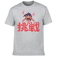 Wholesale Pos Single - Gorillaz Band Dare Album Single Chinese Cover Pos T Shirt Anime Casual 100% Cotton O-Neck Men T Shirts Character Clothing Colors Size XS-3XL
