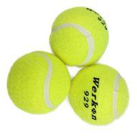 Wholesale Tennis Balls Sale - Wholesale- 3pcs Tennis Training Ball for Training Beginner Yellow High Elasticity Tennis Balls for Training Competition Hot Sale
