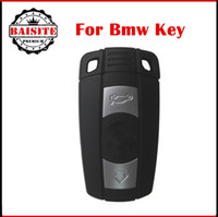 Wholesale Bmw Key 868mhz - Free shipping Complete set key bmw 3 Button Remote Key 315mhz  868MHZ for BMW 3 5 Series X1 X6 Z4 With ID7944 Chip