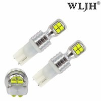 Wholesale Bmw Turn Signal Light - WLJH 2x T10 LED W5W 40W LED 194 168 8SMD 12V-24V Car Lamp For Interior Dome Reading Parking Sidemarker Sidelight Lamp Bulbs