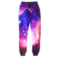 Wholesale Urban Clothing Brands - New Space Men Pants Outdoor Harem Trousers Brand Harajuku 3d Print Cheap Male Urban Free Planet Clothing China Baggy Emoji Mens