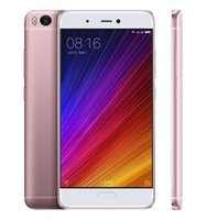 Wholesale Cdma Dual Sim Card - Original Xiaomi Mi 5S Andriod 6.0 4G Smartphone 5.15inch Snapdragon821 Quad Core NFC Fingerprint 4GB RAM 128GB ROM 12.0MP MobilePhone