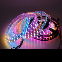 Wholesale Led Self Adhesive Strip Lighting - DC5V LED Strip Lights 5050SMD 60LEDs RGB Single Color Backlight Self-adhesive Sticker Waterproof IP65 USB Changeable Lamps Decorate TV PC