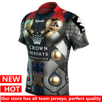 Wholesale shirt hero - Hero commemorative version New Melbourne Storm Jersey 2017 Home Rugby Jerseys Australia 17 18 NRL League Super Rugby shirt