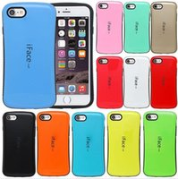 Wholesale Iface Shockproof Iphone Case - iPhone7 Note7 iFace Mall Shockproof Hybrid TPU PC Armor Shell Gel Case For iPhone 7 Plus Samsung Galaxy J1 J2 J3 J5 J7 HUAWEI P8 Lite