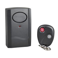 Wireless Vibration Control Remote Alarm Home Security per porte e finestre Moto Auto Moto Scooter antifurto di sicurezza di allarme di sicurezza del rivelatore di sistema