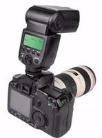 ingrosso telecamera flash yongnuo-VILTROX JY-680A luci stroboscopiche LCD flash flash universale per fotocamere Canon Nikon Pentax Olympus