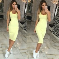 Wholesale cheap plus bodycon dresses - Women dress 2016 casual dress vestidos femininos sexy dresses plus size robe cheap clothes china women summer dress 2016