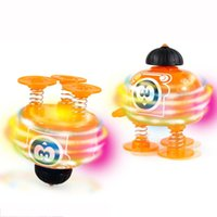Wholesale Juguetes Robot - Wholesale- Super Wings Robot Jumps Beyblade Toys For Children Led Light Spinning Toy Tops Family Fun Gyroscope Toy Kids Peonzas Juguetes