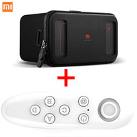 Wholesale Popular 3d Movies - Popular Original Xiaomi VR case Virtual Reality 3D movie Glasses Mi VR Box 3D Virtual Reality Glasses cardboard MI VR For iphone 7