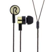 Wholesale Fiber Wiring - 2015 Metal Earphones Jack Standard Noise Isolating Reflective Fiber Cloth Line 3.5mm Stereo In-ear Earphone Earbuds Headphones