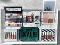 Wholesale Color Bug Set - Kylie makeup set takes me on vacation, gives me more nudity, wet, ultra glow, June bug,shinny dip