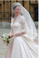 Wholesale Free Net Meter - New Bridal Veils White 1.5 Meter Tulel Lace Applique Bridal Accessories Princess Kate Cheap Free Shipping Wedding Accessories
