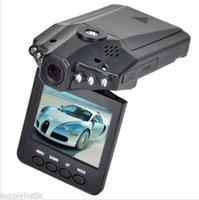 Wholesale Hd Video Recorder Screen - H198 cam Camera HD Car DVR gps Blackbox 6LED Night Video Recorder dashcam 2.5 inch TFT Screen 270 Rotating