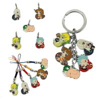 Wholesale Anime The Seven Deadly Sins Nanatsu No Taizai Meliodas Hawk Diana Metal Figures Pendant Keychain Phone Straps