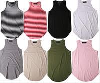 Wholesale Men S Khaki Vests - 2018 New fashion Clothing Bodybuilding Tank Top Men Singlet Sleeveless Shirt Cotton Vest