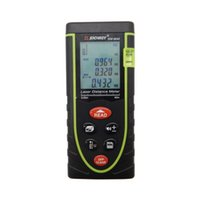 Wholesale Digital Laser Measuring - Wholesale-Sndway Digital Laser distance meter 40M Rangefinder Range finder Tape measure Area volume tool 40M 60M 80M 100M available